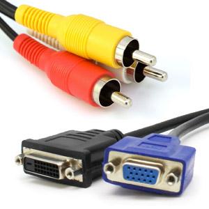 כבלים למחשבים ומתאמים